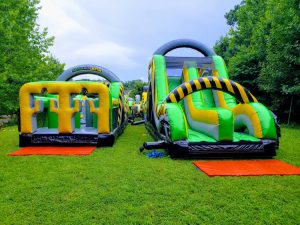 Inflatable Bounce house obstacle