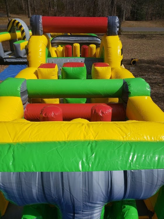 70 foot Obstacle 2 piece obstacles