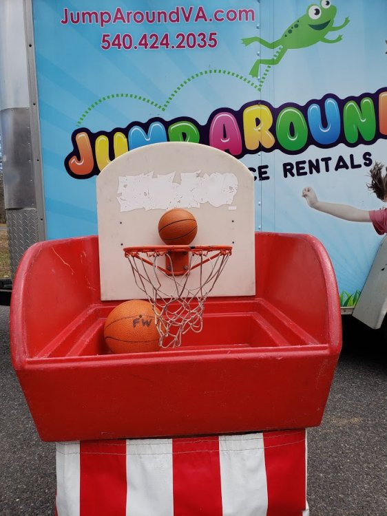 The Hot Shot Basketball Carnival Game