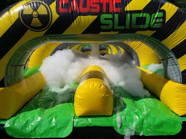 Foam Double Lane Slip N Slide