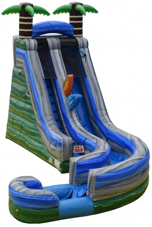 Tropical Curve Water Slide